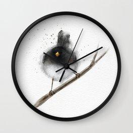 Junco Birdie Wall Clock