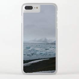 Ice Lagoon Clear iPhone Case