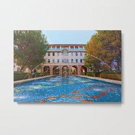 California Institute of Technology - Caltech - Beckman Institute Metal Print