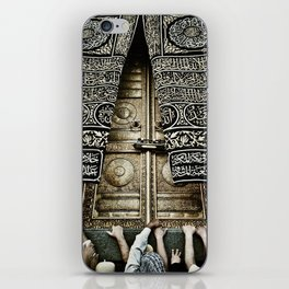 The Ka'aba Door iPhone Skin