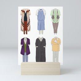 Dorothy Zbornak outfits Mini Art Print