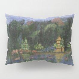 Golden Pagoda Pillow Sham