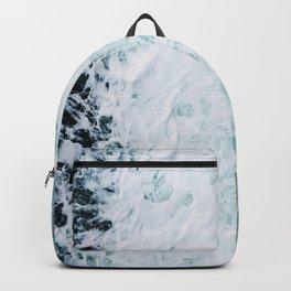 Aerial Ocean View Backpack