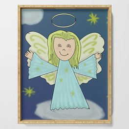 Angel Serving Tray