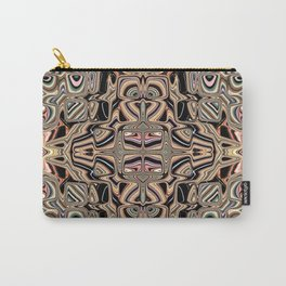 Autumnal Earth Tone Abstract Carry-All Pouch