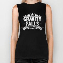 Camp Gravity Falls  Biker Tank