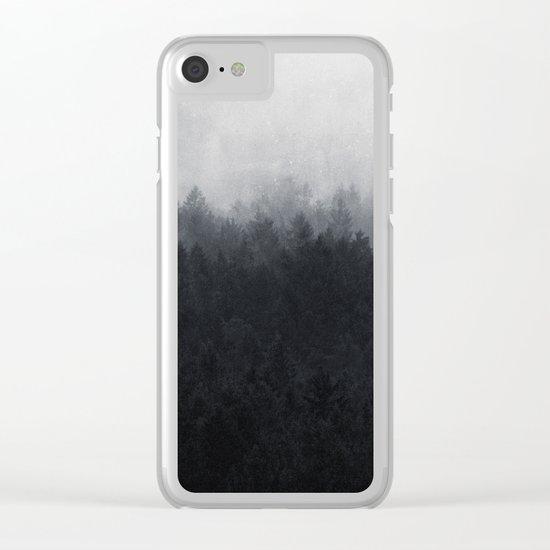 Undone Clear iPhone Case