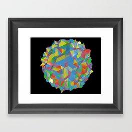 IsoPixel Framed Art Print
