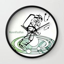 AstroFooFoo Wall Clock