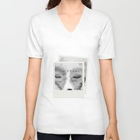 typo V-neck T-shirts featuring Typo Fox by Vidility