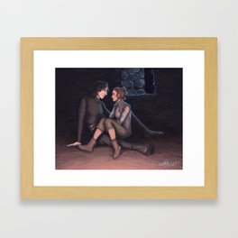 Uninterrupted Framed Art Print