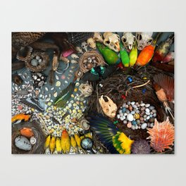 I Spy at the Slater Museum Canvas Print