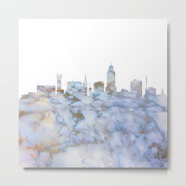 Lincoln Nebraska Skyline Metal Print
