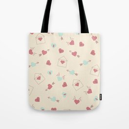 Letters for your sweetheart . Tote Bag