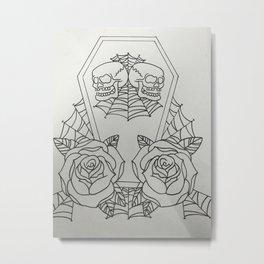 Twins funeral funeral Metal Print