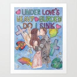 Romeo & Juliet Art Print