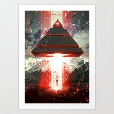 Ultrametric Space Art Print