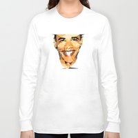 obama Long Sleeve T-shirts featuring ICONS: Obama by LeeandPeoples