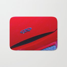 Chery QQ Electric Front Red Bath Mat