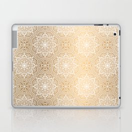 Gold Mandala 18 Laptop & iPad Skin