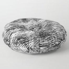 Black Pattern#4 Floor Pillow
