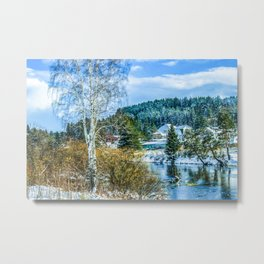 Winter came Metal Print