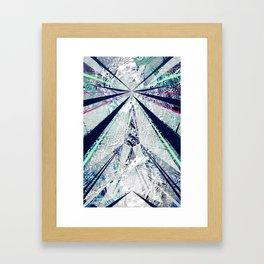 GEO BURST Framed Art Print