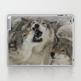 Family Squabble Laptop & iPad Skin