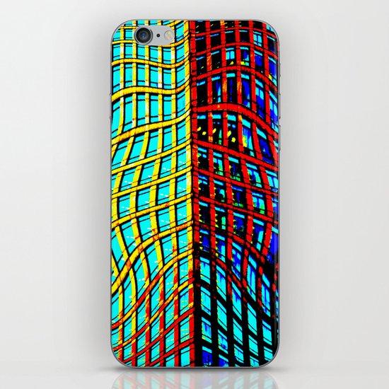 Collapsing Skyscraper iPhone & iPod Skin
