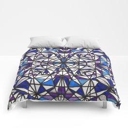 Blue purple dreams Comforters