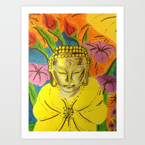 B-One of peace and love Art Print