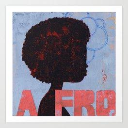 A FRO Art Print