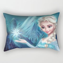 Elsa Frozen Rectangular Pillow