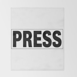 Press Pass Throw Blanket