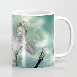 Marlin with mermaid Coffee Mug