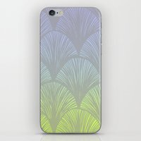 hologram iPhone & iPod Skins featuring Hologram Scales by michiko_design