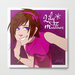 Lily Martinez Metal Print