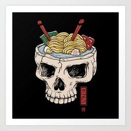 Ramen Brain Art Print