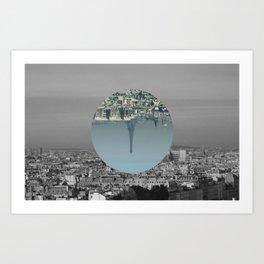 Paris is simple Art Print