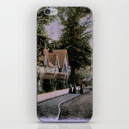 1900 Canford Magna village Dorset England iPhone Skin