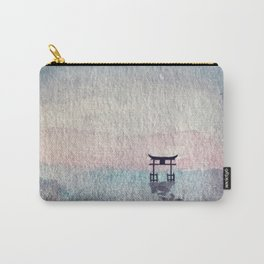Torii On Water Carry-All Pouch