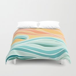 Sea and Sky II Duvet Cover