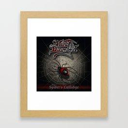 KING DIAMOND SPIDER LULLABYE TOUR DATES 2019 JARJIT Framed Art Print