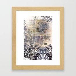 BK QUANTUM ABSTRAKT Framed Art Print