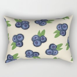 I Blueberry You Rectangular Pillow