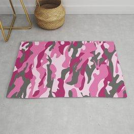 Pink Camo Rug
