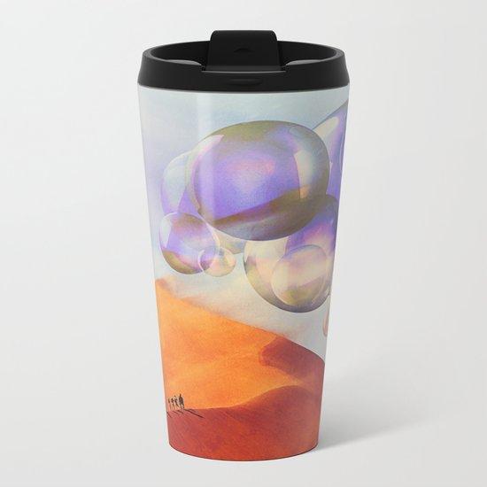 Huge Balls Metal Travel Mug