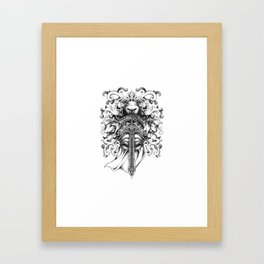 Knightly Framed Art Print