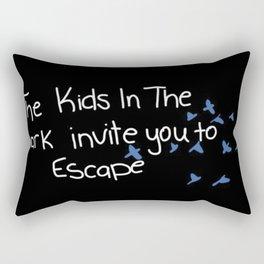 We invite you to escape Rectangular Pillow