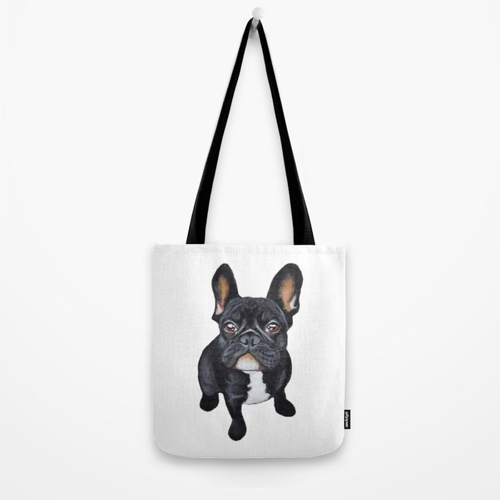 Tote Bag - FRENCH BULL 9 by VIDA VIDA